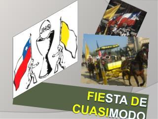 FIESTA DE CUASIMODO