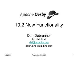 10.2 New Functionality