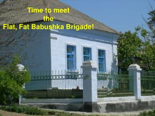 Time to meet the  Flat, Fat Babushka Brigade