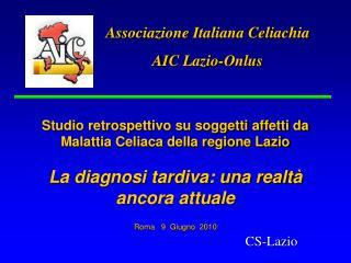 Associazione Italiana Celiachia AIC Lazio-Onlus
