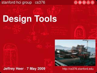 Jeffrey Heer   7 May 2009