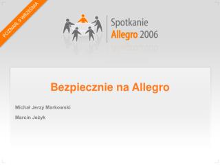 Bezpiecznie na Allegro