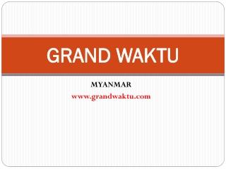 Ekspor ke Myanmar