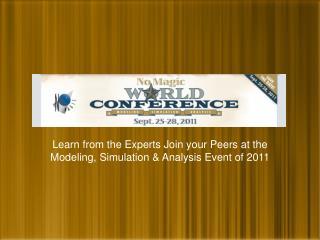 UML Conference Presentation