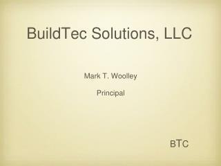 BuildTec Solutions, LLC