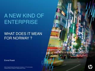 HP Norway Strategy FY11-13