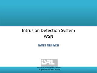 Intrusion Detection System WSN