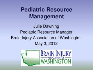 Pediatric Resource Management
