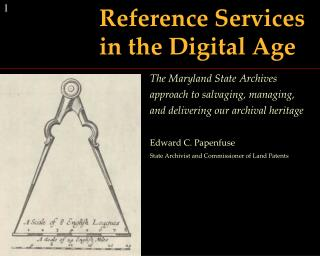 Reference Services  in the Digital Age