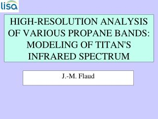 HIGH-RESOLUTION ANALYSIS OF VARIOUS PROPANE BANDS: MODELING OF TITANS INFRARED SPECTRUM