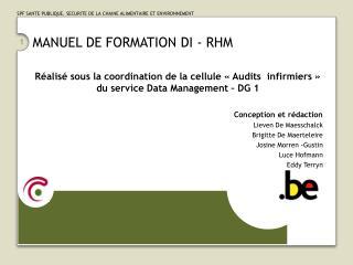 MANUEL DE FORMATION DI - RHM
