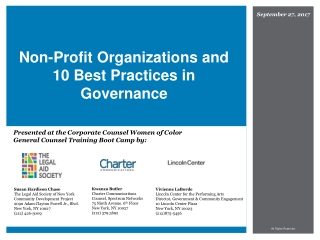 Nonprofit Liability and Director  Officer Liability