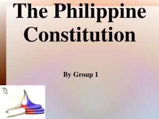 The Philippine Constitution