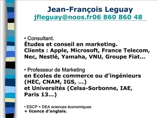 Jean-Fran ois Leguay jfleguaynoos.fr  06 860 860 48