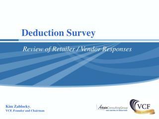 Deduction Survey