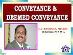 CA . RAMESH S. PRABHU   Chairman M S W A