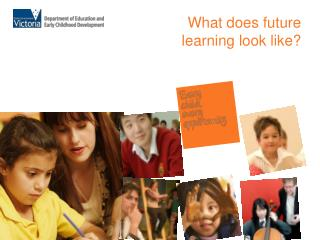 What does future learning look like