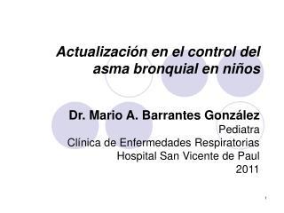 Actualizaci n en el control del asma bronquial en ni os