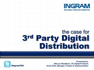 The case for  3rd Party Digital Distribution