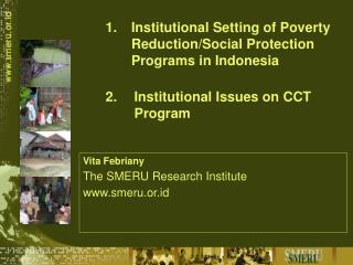 /Social Protection Programs in Indonesia