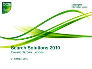 Search Solutions 2010