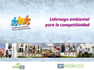 Liderazgo ambiental  para la competitividad