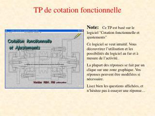 TP de cotation fonctionnelle