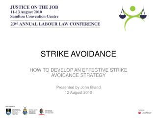 STRIKE AVOIDANCE