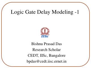 Logic Gate Delay Modeling -1