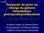 Dr Michel Vall e, Dr Cl ment D ziel,  Dr Serge Qu rin, Dr Fran ois Madore. H pital du Sacr -Coeur de Montr al