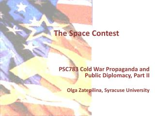 The Space Contest