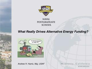What Really Drives Alternative Energy Funding