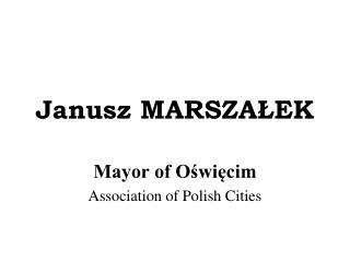 Janusz MARSZALEK