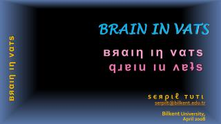 BRAIN IN VATS