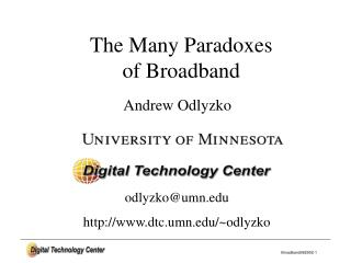 Andrew Odlyzko