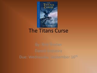 The Titans Curse