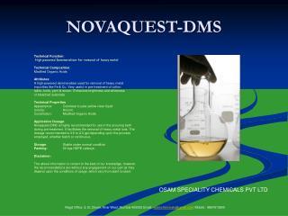 NOVAQUEST-DMS
