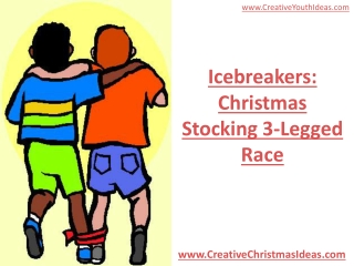 Icebreakers: Christmas Stocking 3-Legged Race