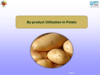 By-product Utilization in Potato
