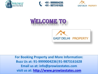 Property in east delhi **09289578803**