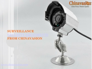 surveillance camera, business  camera, other security equipment on sle.