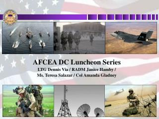 AFCEA DC Luncheon Series LTG Dennis Via