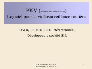 PKV Pr sentation V2