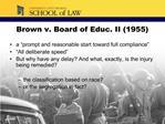 Brown v. Board of Educ. II 1955