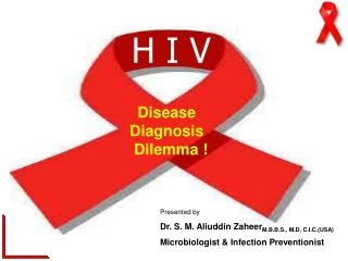 "HIV "" DISEASE, DIAGNOSIS AND DILEMMA"""