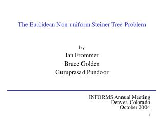 The Euclidean Non-uniform Steiner Tree Problem