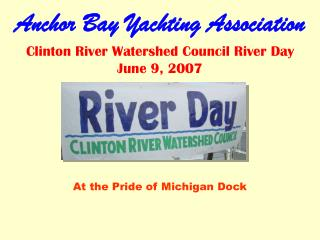 Anchor Bay Yachting Association