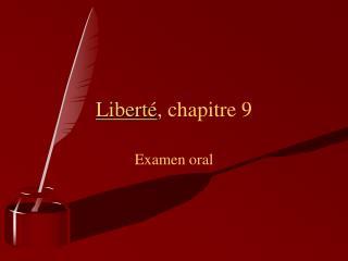 Libert , chapitre 9