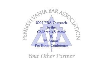 2007 PBA Outreach  to the  Children s Summit  7th Annual Pro Bono Conference