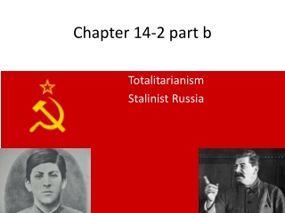 How far was Stalin responsible for the Great Purges